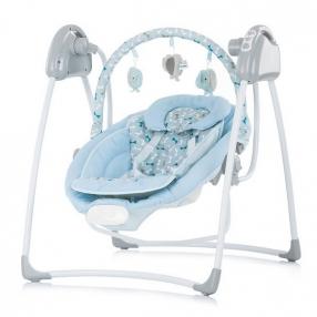 Chipolino Парадайз - Електрическа бебешка люлка-шезлонг