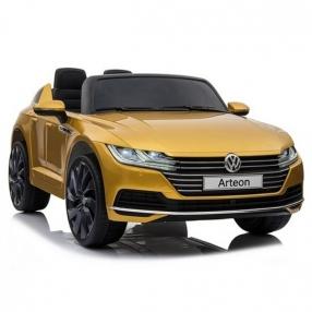 Акумулаторна кола Volkswagen Arteon, 12V с меки гуми и кожена седалка