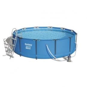Bestway Steel Pro Max Frame Pool - Басейн сглобяем кръгъл с помпа 366х100см