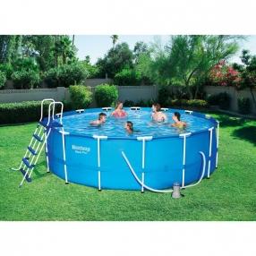 Bestway Steel Pro Frame Pool - Сглобяем басейн 457x122см
