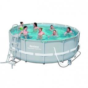 Bestway POWER STEEL - Сглобяем басейн с помпа 427x122см