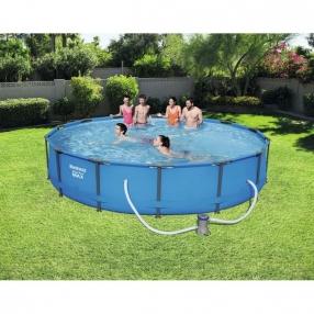 Bestway Steel Pro Frame Pool - Сглобяем басейн с помпа 427x84см