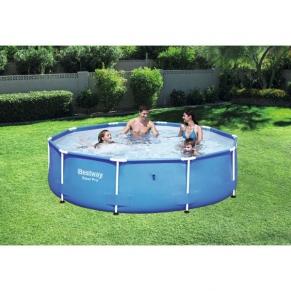 Bestway Steel Pro - Сглобяем басейн с рамка Кръгъл  305 cm x 76 cm