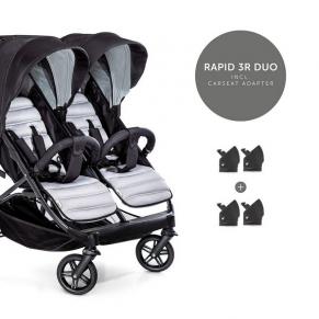 Hauck Rapid 3 R Duo - Количка за близнаци