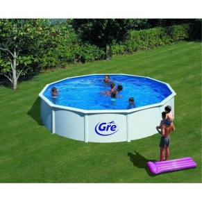 GRE FIJI - Сглобяем басейн с метална стена , кръг, ф550 h 120см.