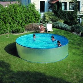 GRE - Сглобяем басейн с метална стена , кръг, ф350 h 90см.