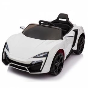 Акумулаторна кола Rock, 12V с меки гуми и кожена седалка