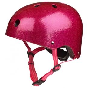 Micro Helmet Pink Glitter - Каска