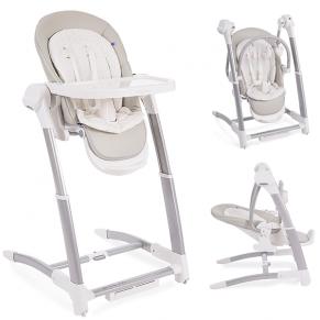 KikkaBoo Prima 3в1 - Бебешка люлка/столче за хранене