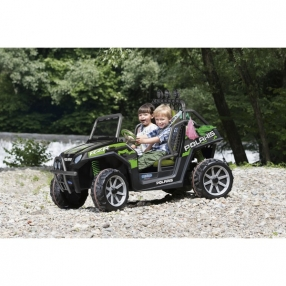 Peg Perego POLARIS RANGER RZR 800 GREEN SHADOW - Акумулаторен джип 24V