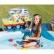 INTEX - Надуваем център за игра с пързалка Забавен риболов 218 x 188 x 99 см. 6