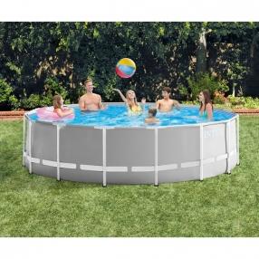 Intex Prism Frame - Сглобяем басейн с филтърна помпа, 457x122см.