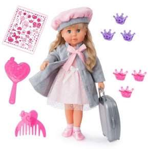 Bayer - Кукла Мария 46см.Пее и Говори със Сиво Палто