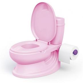 DOLU РОЗОВ - Гърне - тоалетна чиния със звук