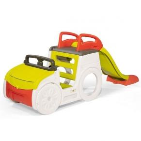 SMOBY - Кола за приключения с пързалка