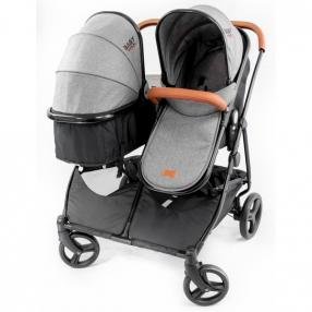 Baby Giggle Duet Practick 2в1 - Детска количка за близнаци