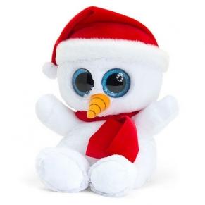 Keel Toys Animotsu Снежен човек - Плюшена играчка 15 см.