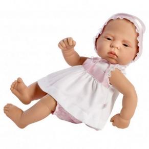Asi - Кукла-бебе Лучия с бяла рокличка