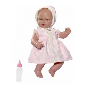 Asi - Кукла-бебе Оли с розова рокля