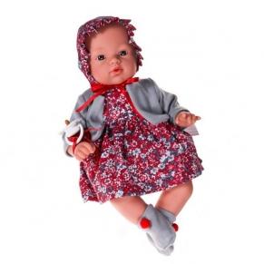 Asi - Кукла-бебе Коке с рокля и шапка на цветя