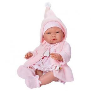 Asi - Кукла-бебе Мария с розово палтенце