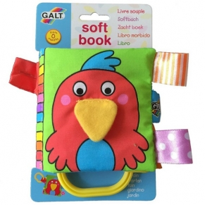 Galt Toys Градина - Малка мека книжка