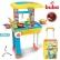 Buba Little Chef Set - Детска кухня, Жълта/Синя