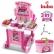 Buba Kitchen little Chef - Детска кухня, Розова