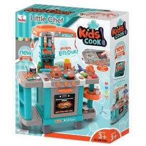 Buba - Детска кухня с реакция при докосване, Синя