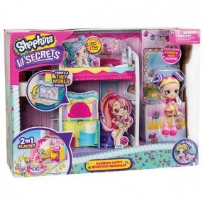 Shopkins Lil Secrets S1 - Спалня С Кукла