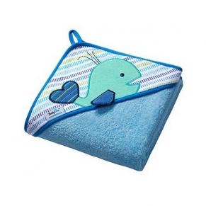 Babyono TERRY - Кърпа за баня с качулка