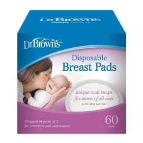 Dr.Brown's - Подплънки за кърмачки 60 бр.