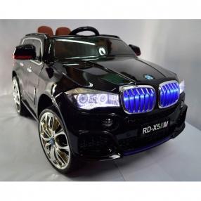 Акумулаторен джип BMW X5 12V Wi Fi с дисплей/видео и кож.седалка