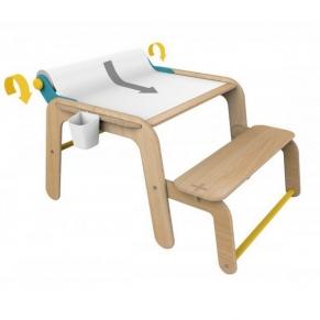 MamaToyz - Дървена маса и мини бюро