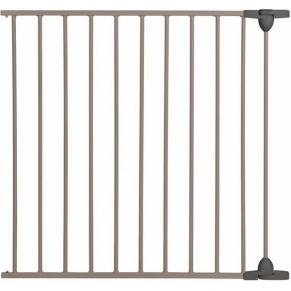 Safety 1st - Удължител за модулна метална преграда за врата - 72см , сив