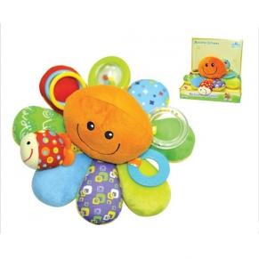 Moni Палавото Октоподче - Бебешка плюшена играчка