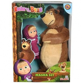 Simba Маша и мечока - Плюшен мечо с Маша