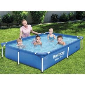 Bestway Splash Jr. Frame - Сглобяем басейн  56401, 221 x 150 x 43 cm