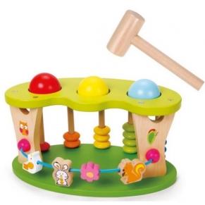 Classic world - Дървена детска играчка за координация и точност