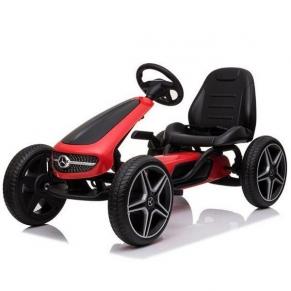 Картинг Mercedes PEDAL GO KART (от 3 до 8 години) с меки гуми, 2020 година