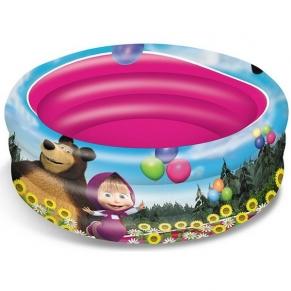 Mondo Маша и Мечока - Надуваем басейн, 100 cm с 3 ринга