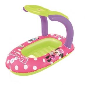 Bestway - Надуваема лодка със сенник Minnie Mouse 112x71см.