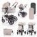 Lorelli LORA SET 3в1 - Комбинирана детска количка 4