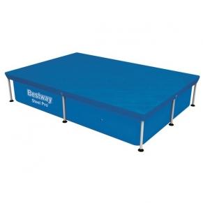 Bestway - Покривало за басейн 224 cm x 154 cm за басейн макс. 221 cm x 151 cm