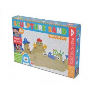 Paradiso toys - Супер пясък с формички 1 кг.