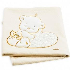 Italbaby BABY LOVE 110х150 см. Ivory - Одеяло