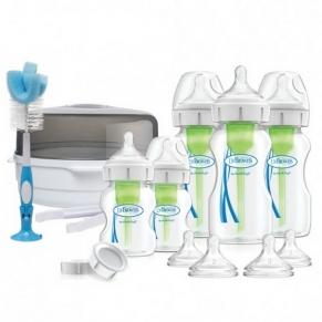 Dr.Brown's Wide-Neck Options+ Deluxe - Комплект за новородено