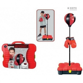 King Toys - Преносима боксова круша със стойка