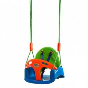 King Sport - Детска люлка с предпазен борд и колани