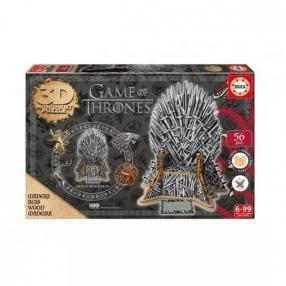 EDUCA 3D Game of thrones 56ч. - Дървен пъзел
